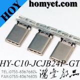 Fabricado na China Mobile Eléctrico do Grupo Telefônica 24 pinos do conector de USB 3.1 Tipo C