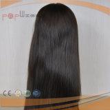 Parrucca cascer ebrea superiore della pelle bianca di colore del Brown (PPG-l-01261)