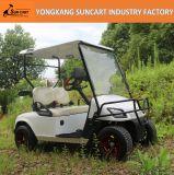 El carro de golf eléctrico, 2 Sseat, eléctrico puro, 48V 4kw, motor de la C.C., manejo de la conducción a la derecha, agrega el compartimiento de la arena y el rectángulo del aislante de calor