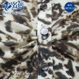 I reticoli di Mixed-Colore Girano-Giù la camicetta allentata di modo del Lungo-Manicotto del collare