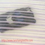 Tela química o jacquard tingido listra a tela do poliéster para a matéria têxtil da HOME do vestuário