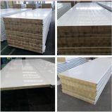 Thermische Isolierungs-Feuer-Beweis-Felsen-Wolle-Zwischenlage-Panel für Wand und Dach