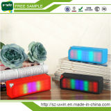 Kreativer mini drahtloser Bluetooth Lautsprecher mit buntem LED-Licht