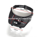 Lichter der Stirnband-Vergrößerungsglas-Glas-Lupe-LED