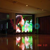 P5は視野の効果の屋内フルカラーのLED表示スクリーンを完成する