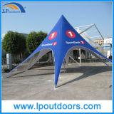 Nuance extérieure d'étoile de tente d'écran d'impression de logo de douane