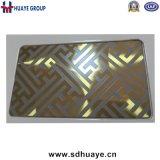 Вытравленная декоративная плита цвета нержавеющей стали для лифта