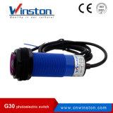 G30 M30 fotoeléctrico Interruptor de barrera tipo difuso Tipo retrorreflectante Tipo