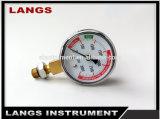 031 Auto Parts Low Carbon Dioxide Differential Pressure Gauge