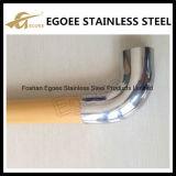 Ajustage de précision de pipe de la fabrication solides solubles 304 solides solubles 316 coude de 90 degrés pour la balustrade d'escalier