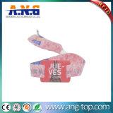 Sicherheits-farbenreiche geruchlose RFID gesponnene Armbänder