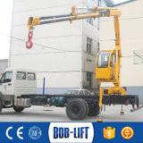 Certificado del Ce grúa hidráulica del carro del camión de 4 toneladas