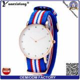 Yxl-223 Encanto Diamante Señora Reloj Nylon Nato Correa De Moda De Reloj De Las Mujeres Deporte De Moda Reloj De Las Señoras Al Por Mayor