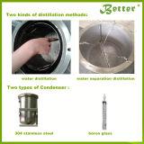 Équipement de distillation d'huile essentielle en acier inoxydable de haute qualité