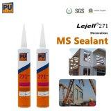 높은 압정 최고 강한 낮은 Polymer Sealant 냄새에 의하여 변경되는 Sliane 접착성 Ms