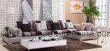 現代居間の家具柔らかいファブリック部門別のソファー(UL-NSC106)