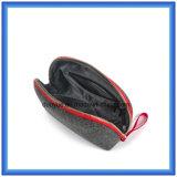 若者デザインウールは携帯用小さい記憶のハンド・バッグ、昇進のギフトのパッキングハンドル袋/ジッパーが付いている装飾的な袋を感じた
