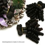 100% unverarbeitetes peruanisches Haar-Webart Movado Rotation-Menschenhaar