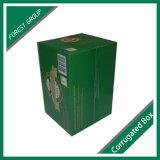 24 Flaschenglas-Bier-gewölbtes Papier-verpackenkästen