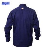 Workwear da roupa protetora do revestimento do T/C do azul de marinha