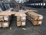 Popular en el mercado de acero estampado fabricante de la piel de la puerta de acero galvanizado