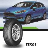 El vehículo de pasajeros de China pone un neumático 185/70r13 de la marca de fábrica de Tekpro