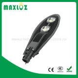 50Wアルミニウム物質的で高い内腔IP65は穂軸LEDの街灯を防水する