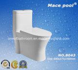 Armadio di un pezzo di Siphonic della toletta di ceramica del raggruppamento del macis per la stanza da bagno (8043)