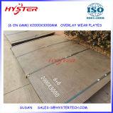 OEM de Fabriek levert 1500X3000mm de Plaat van het Staal van de Slijtage van de Bekleding van het Carbide van 5+5 Chromium
