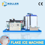 Koller Kp200 Super Market Seafood Ice Making Machine à glace en flocons avec un refroidissement direct et une production énorme