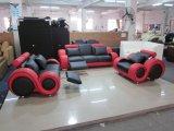 Sofá de couro moderno para sala de estar em sala de estar Conjunto de sofá