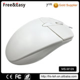 Neuer Entwurf weiße verdrahtete USB-Maus