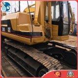 Os EUA usaram a máquina escavadora hidráulica da lagarta 320b da esteira rolante, máquina escavadora do gato 320b para a venda