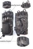 Antibotsings Handschoen voor Politie met Elektrische Impuls (Halve Vinger)