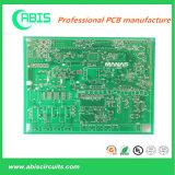 PCB rígido com tinta verde.