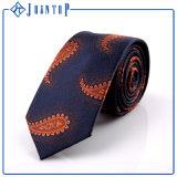 Kundenspezifische Krawatten-Qualität Paisley-Microfibre