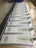 Installation durch straßenlaterneder Screwslighting 8m Solarhöhen-50W LED