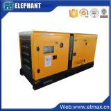 prix 100% de référence diesel de Pricefob de générateur monophasé AC220V50Hz de câblage cuivre triphasé silencieux chaud direct de vente de l'usine 40kVA
