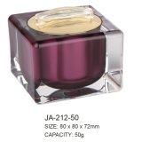 Acrylique carré pot avec 30ml, 50ml