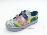 Blingの石(ET-LH160293K)が付いているBlingによって加硫させる方法子供の靴