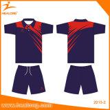 Badminton seco rápido feito sob encomenda Jersey do Sublimation do Sportswear por atacado de Healong