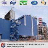 Planta de Energía de acero pesado con estructura de bastidor de gran altura