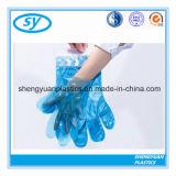 Перчатка HDPE/LDPE устранимым пластичным сложенная PE медицинская