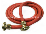 Schwarzer oder roter leitender Dampf-Schlauch