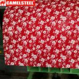 Bobina d'acciaio di colore PPGI di Ral della decorazione dei fiori
