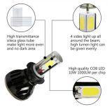 Lampadine del faro di Matec G5 H7 LED con il tubo cambiante 40W 8000lm LED H7 di colore