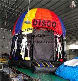 Tente gonflable de dôme d'usager d'événement de musique de disco de pelouse