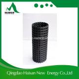 400kn/400kn fibra de vidrio Geogrid para el refuerzo de la plataforma de base