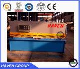 Folha de metal guilhotina hidráulica máquina de corte de Cisalhamento