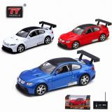 1: 32 RC Die Cast Car (indicatore luminoso, musica) R/C Car